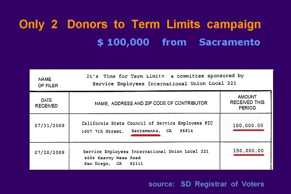 $$$      from    SEIU    and    CSCSE