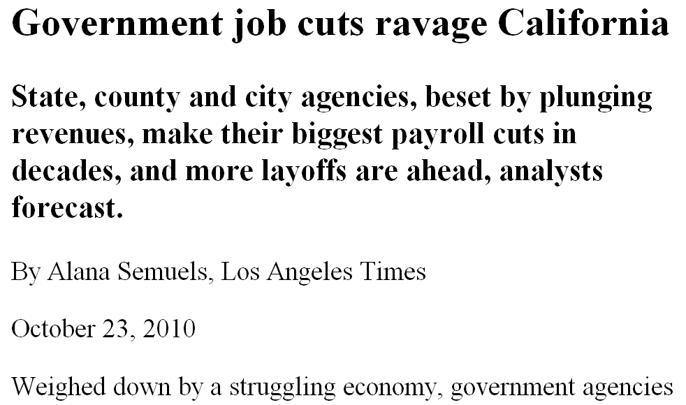 What's really ravaging California, according to the LAT