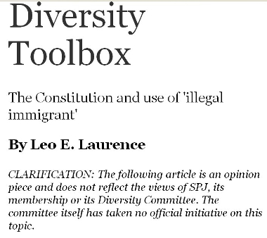 This article does not reflect the views of SPJ or its Diversity Committee