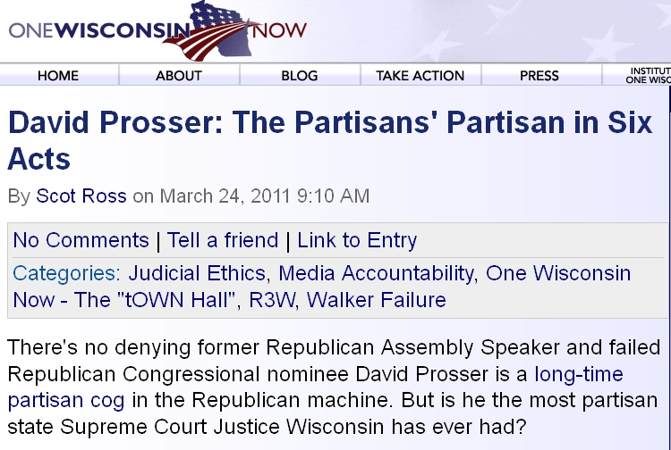 """More """"nonpartisan"""" voter education from One Wisconsin Now"""