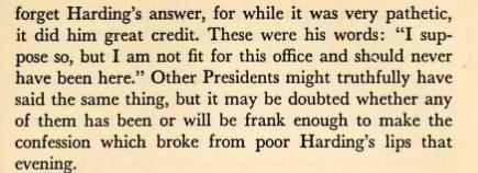 Harding quote