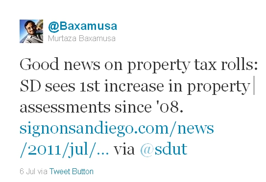 "The ""good news"" is increased property tax assessments"