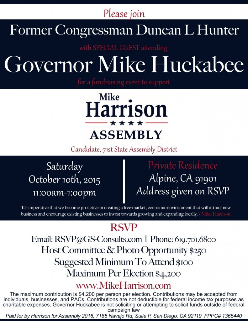 Huckabee Harrison